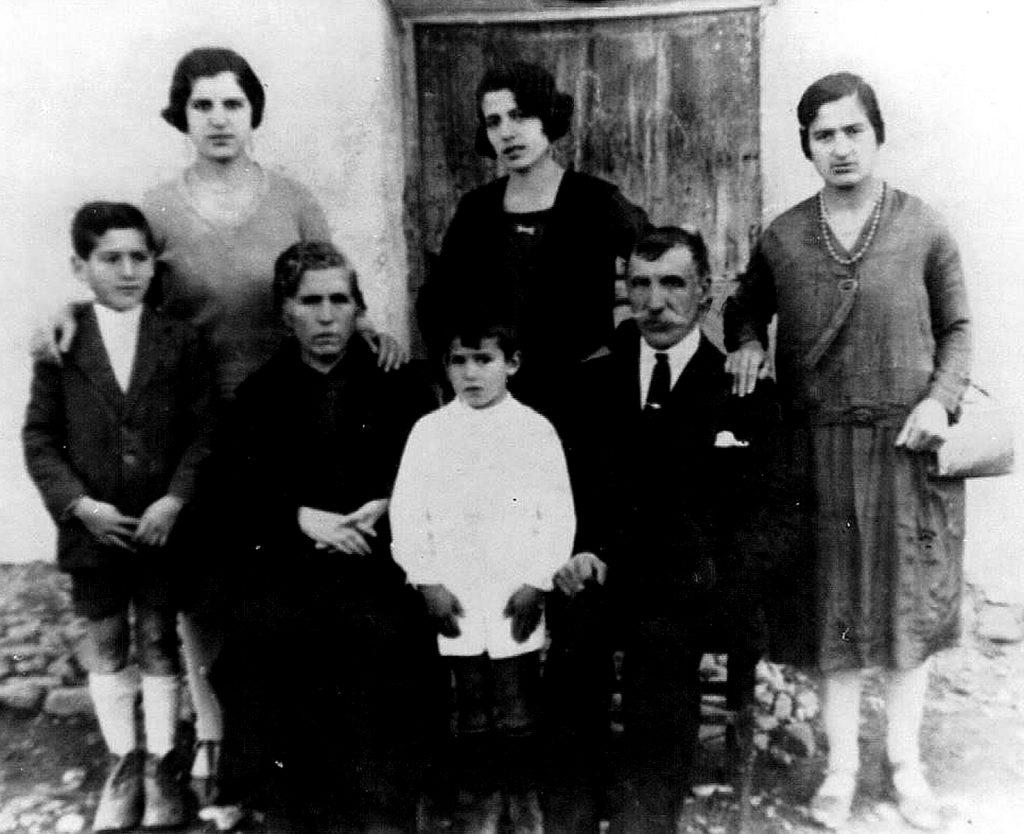 Familia de Francisco Portales Sirgado,1928.
