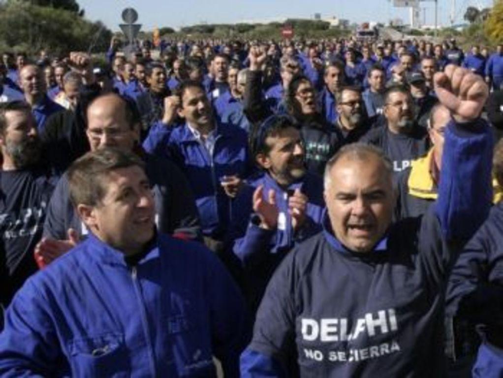 Trabajadores de Delphi