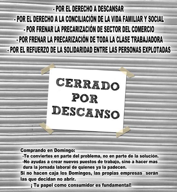 Apertura de festivos 2018 para castilla y le n cnt for Festivos valladolid 2017