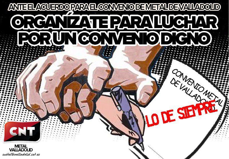 Calendario Laboral Valladolid.Publicado El Calendario Laboral Del Metal 2019 Cnt Valladolid