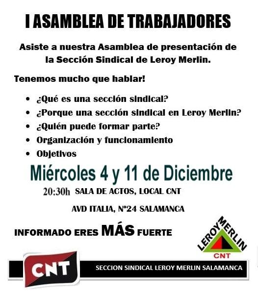 Salamanca Cnt En Leroy Merlin Cnt Valladolid